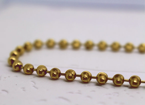 MoonCut Link Chain Yellow Gold