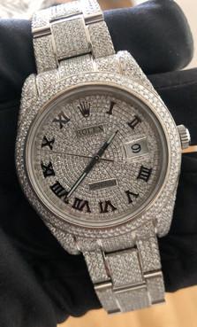 Rolex Datejust II Diamond Set