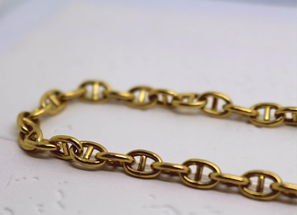 Anchor Link Chain Yellow Gold