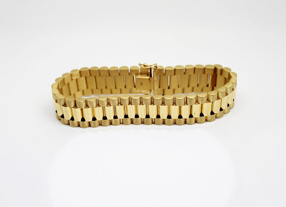 'Presidential' Bracelet Large Yellow Gold