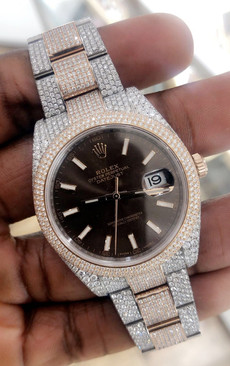 Rolex Datejust 41 Diamond Set