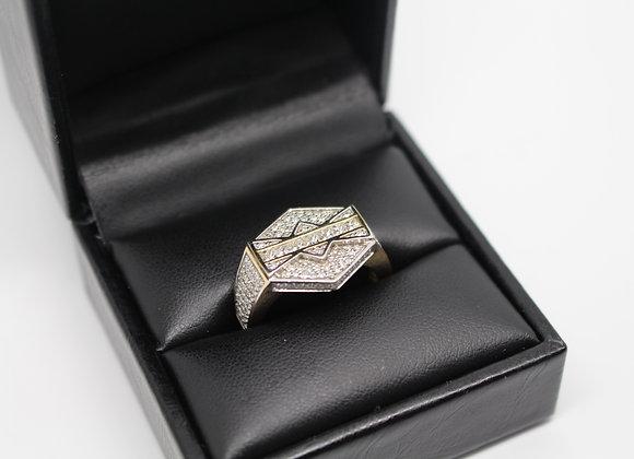 Yellow Gold 'Championship' VS Diamond Ring