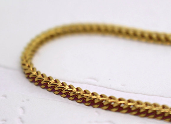 Franco Link Chain Yellow Gold
