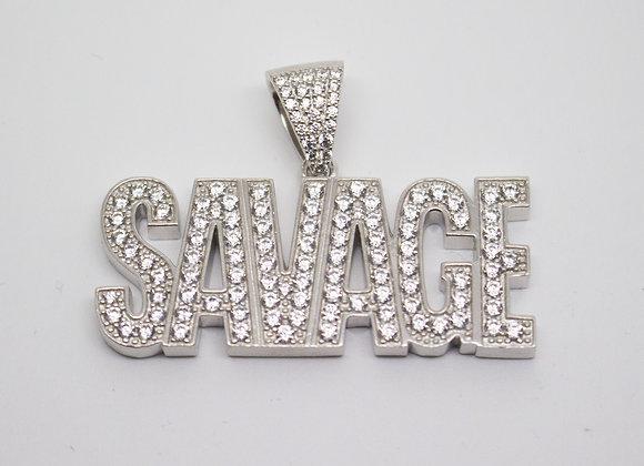 Silver Savage Pendant
