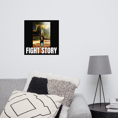 Official Fight Story Poster