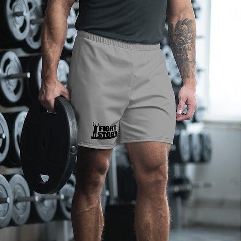 FIght Story Men's Athletic Long Shorts