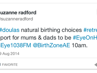 Birth Zone Featured on Dubai Eye Radio Station