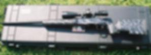 McMillian Stock, custom rifle