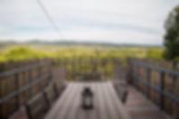 terrasse des gîtes de ceyrac