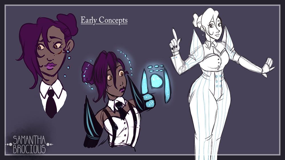 Lady Lavender Concept 6