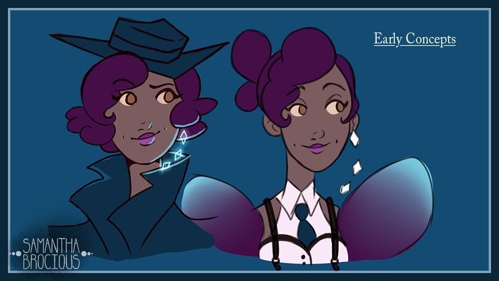 Lady Lavender Concept 5