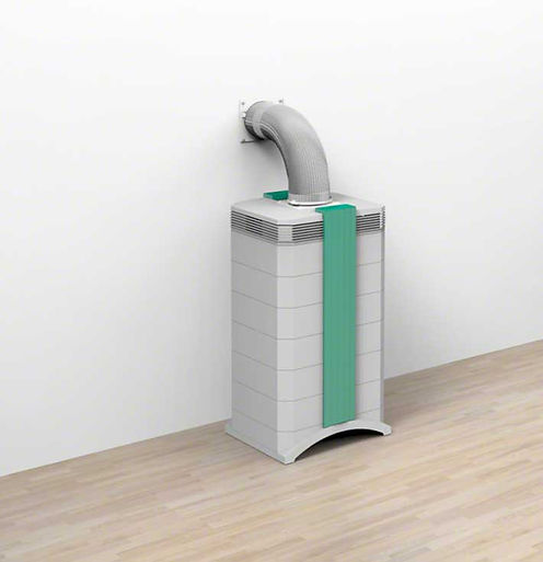 Airpurifier for Isolation rooms