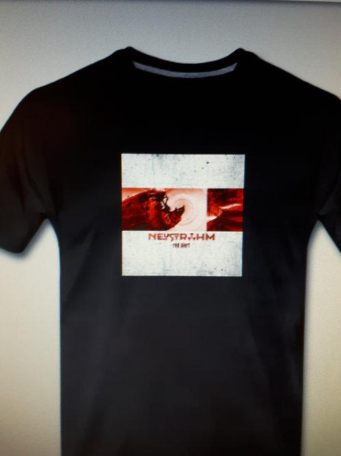 "Neustrohm - Fan Shirt Album ""Red Alert""."
