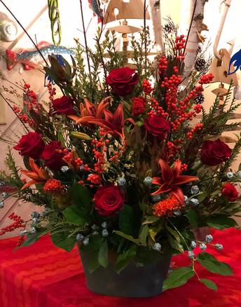 Sympathy Floral Arrangement