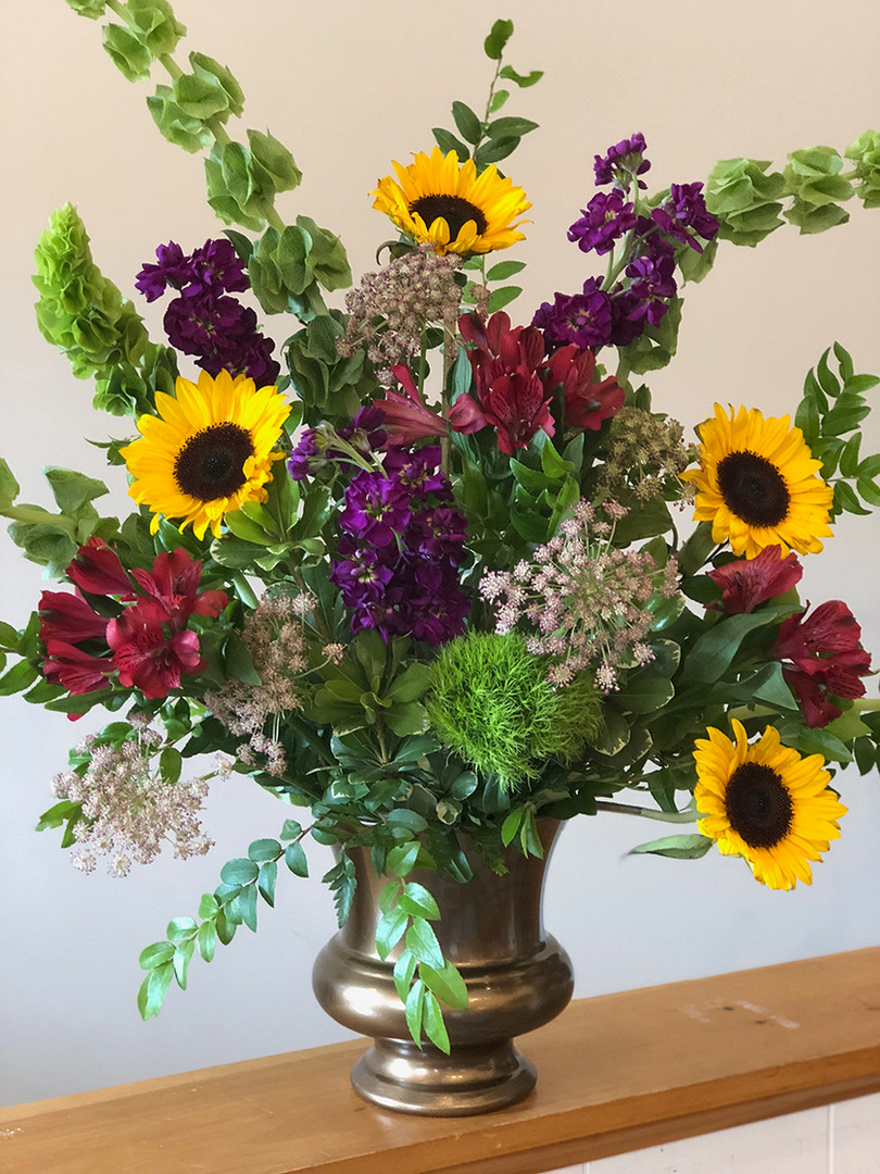Sympathy Sunflower Arrangement