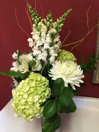 Winter White Custom Bouquet