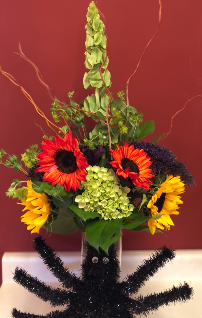 Halloween Fun Flowers