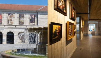 REOUVERTURE DU MUSEE DES BEAUX-ARTS ET D'ARCHEOLOGIE DE BESANCON