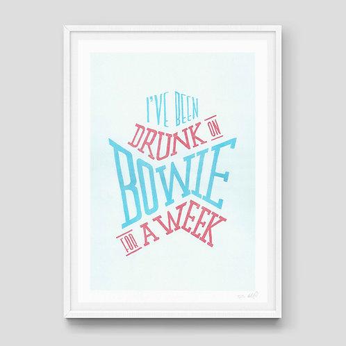 Drunk on Bowie