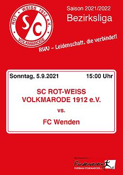 Cover - 3. Spieltag - Wenden