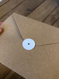 sluitsticker envelop