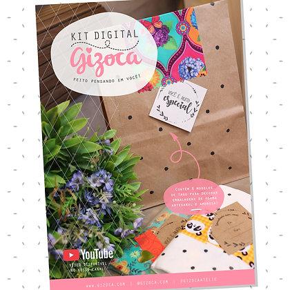 Kit Digital #1 - Tags para Embalagens Criativas