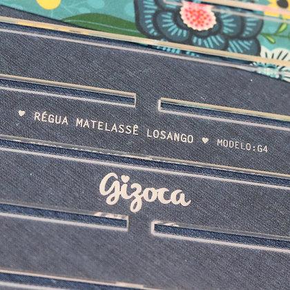 Régua Matelassê Losango - G4