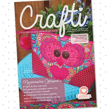 Crafti 07 - Necessaire Corujinha