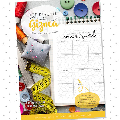 Kit Digital #4 - Planner 2021