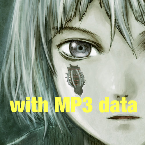 """CD Album """"Cyberia Layer:03"""" with MP3 Song data"""
