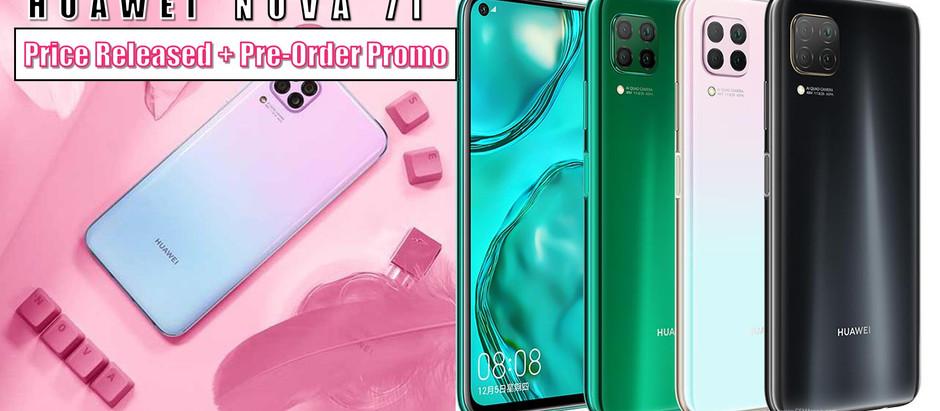 全新【HUAWEI NOVA 7i】价格出炉只需RM1,099!2月14日起至21日预购将免费获得价值RM139的HUAWEI BAND 4!
