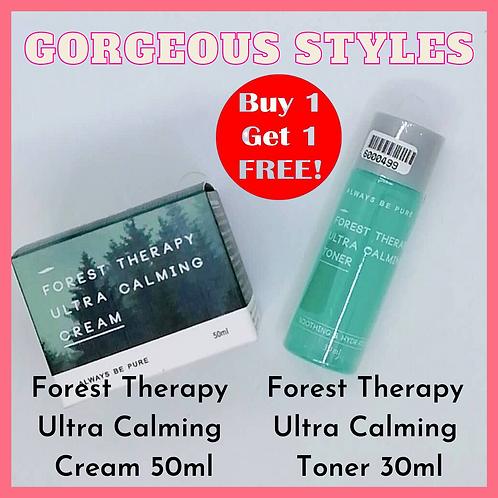 Always Be Pure Ultra Calming Cream 50ml【FREE】Ultra Calming Toner 30ml