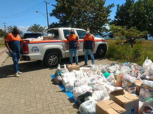 Campanha Niterói Solidária ultrapassa 5 toneladas de alimentos doados pela população