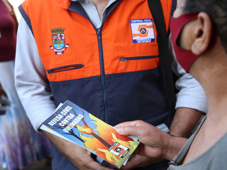 Defesa Civil de Niterói intensifica rondas preventivas contra queimadas