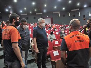 Defesa Civil está capacitando mais uma turma de voluntários para ajudar em ações contra queimadas