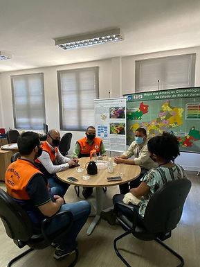 Gabinete de Gestão Integrada de Proteção e Defesa Civil passa a conta com a participação do Inea.