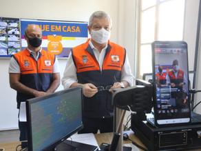 Prefeito de Niterói volta a usar sirenes da Defesa Civil para falar do agravamento da pandemia