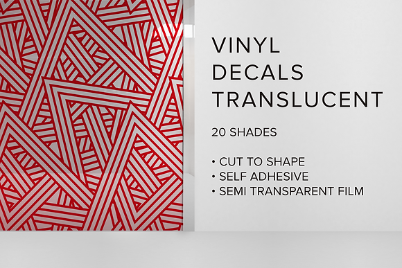 TRANSLUCENT VINYL DECALS