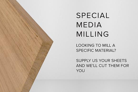 SPECIAL MEDIA MILLING