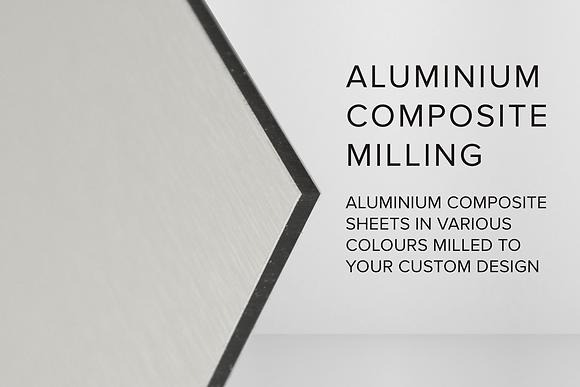 ALUMINIUM COMPOSITE MILLING
