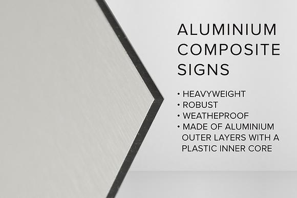 ALUMINIUM COMPOSITE SIGNS
