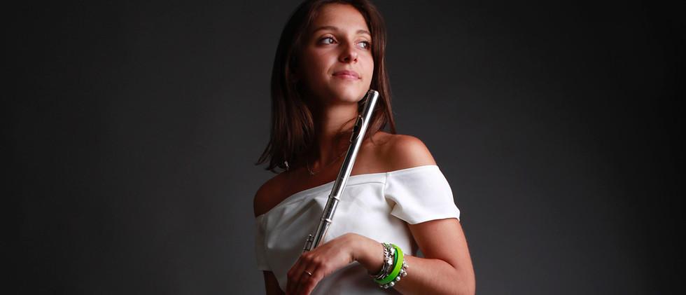 Léa Sicard Caggini, flûte