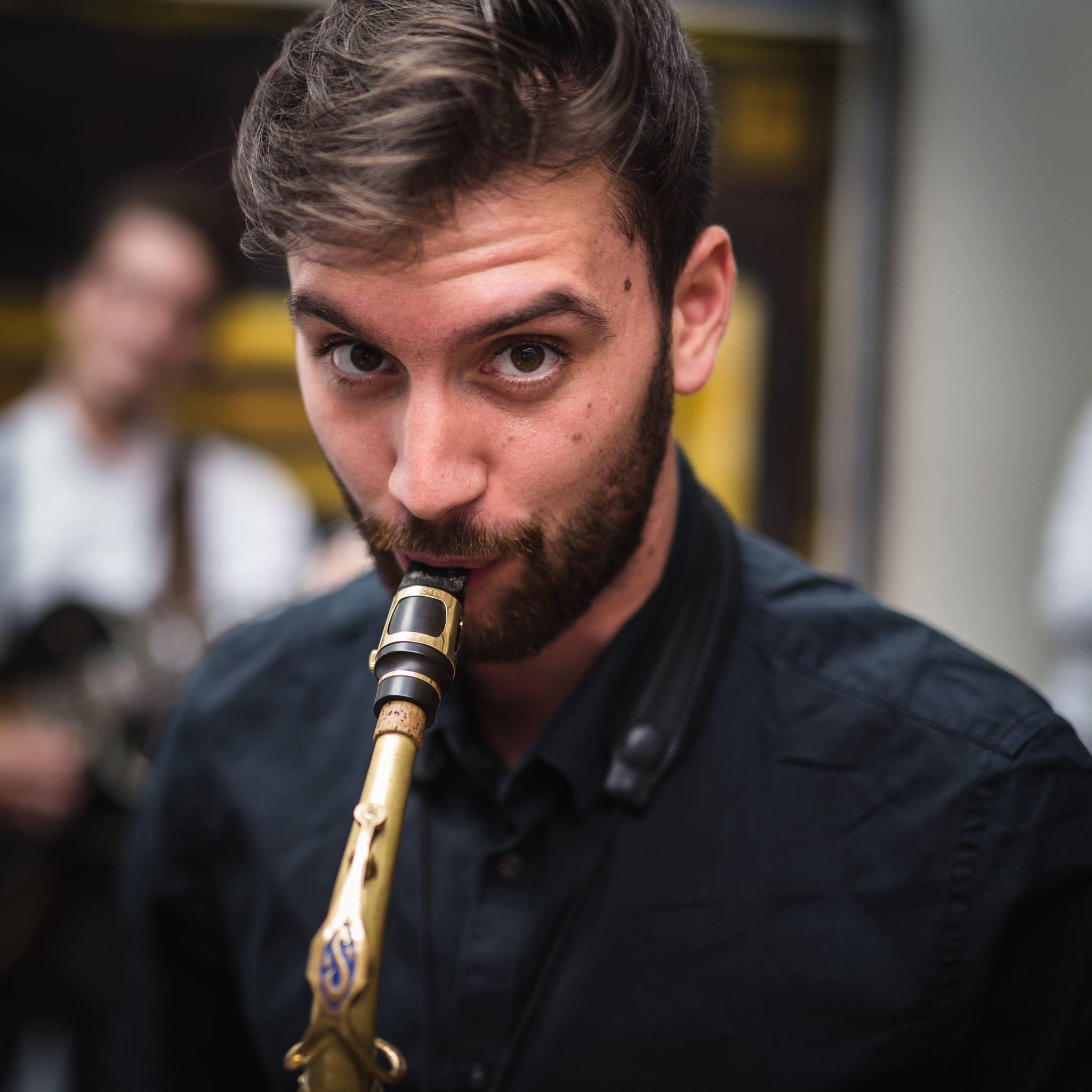 Hugo Afettouche, saxophone