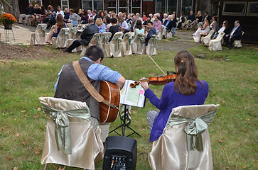 Wedding music, Outdoor ceremony