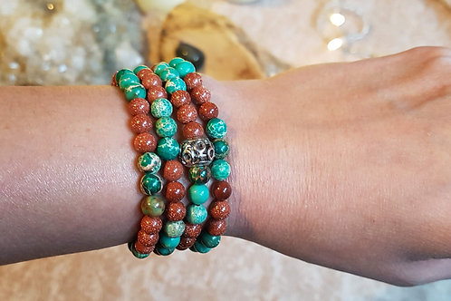 Goldstone & Jasper Mala Stretch band