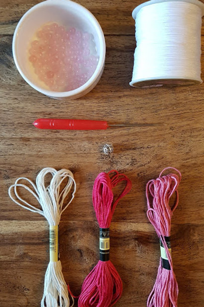 Rose Quartz DIY Mala Kit