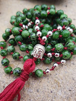 mala green jasper buddha red 2b.jpg