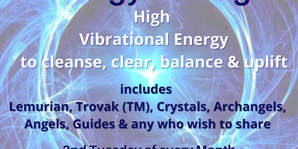 Trovak (TM) Energy Healing Monthly Class (May 2021)