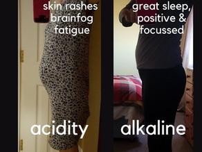 ACID V ALKALINE/food combining
