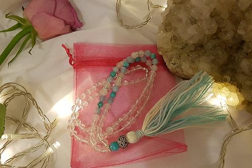 Peace Mala Yoga Meditation necklace
